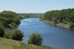 Річка Гайчур біля Андріївського лісу